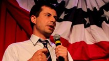 Pete Buttigieg criticizes Mike Pence for his stance on gay marriage, cites his own religious beliefs