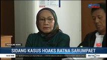 Atiqah Hasiholan Dampingi Sidang Hoaks Ratna Sarumpaet