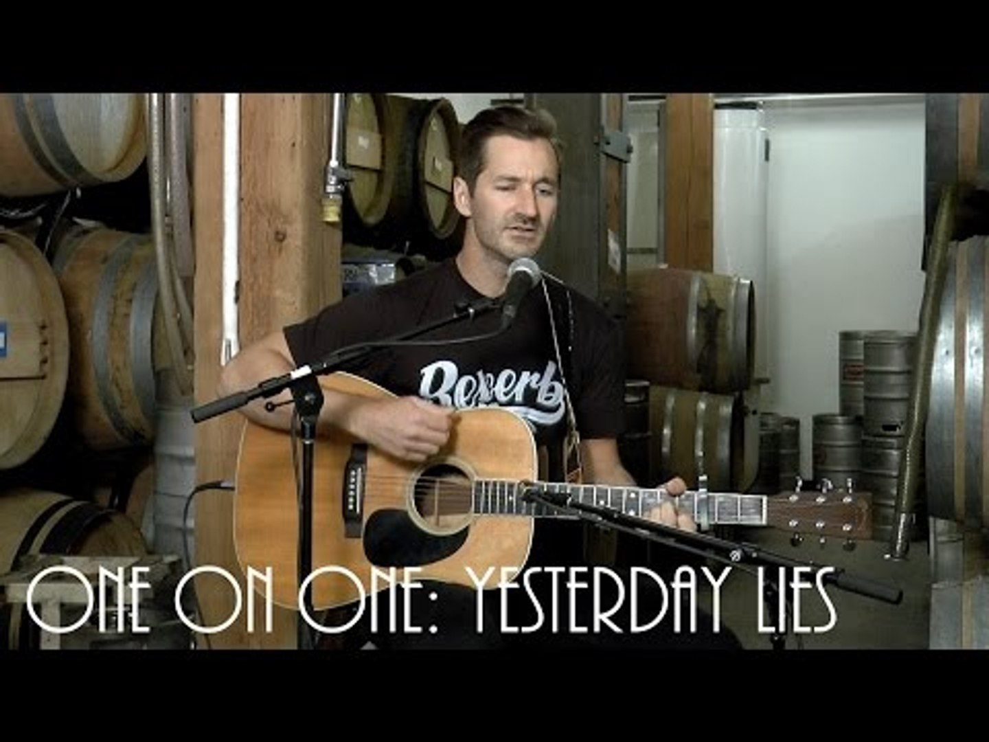 ONE ON ONE: Griffin House - Yesterday Lies April 23rd, 2016 City Winery New York