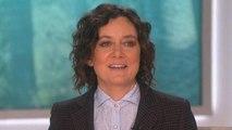 Sara Gilbert Leaving 'The Talk' -- Watch Her Emotional Announcement