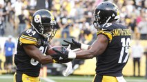 The Jim Rome Show: Antonio Brown and JuJu Smith-Schuster exchange words