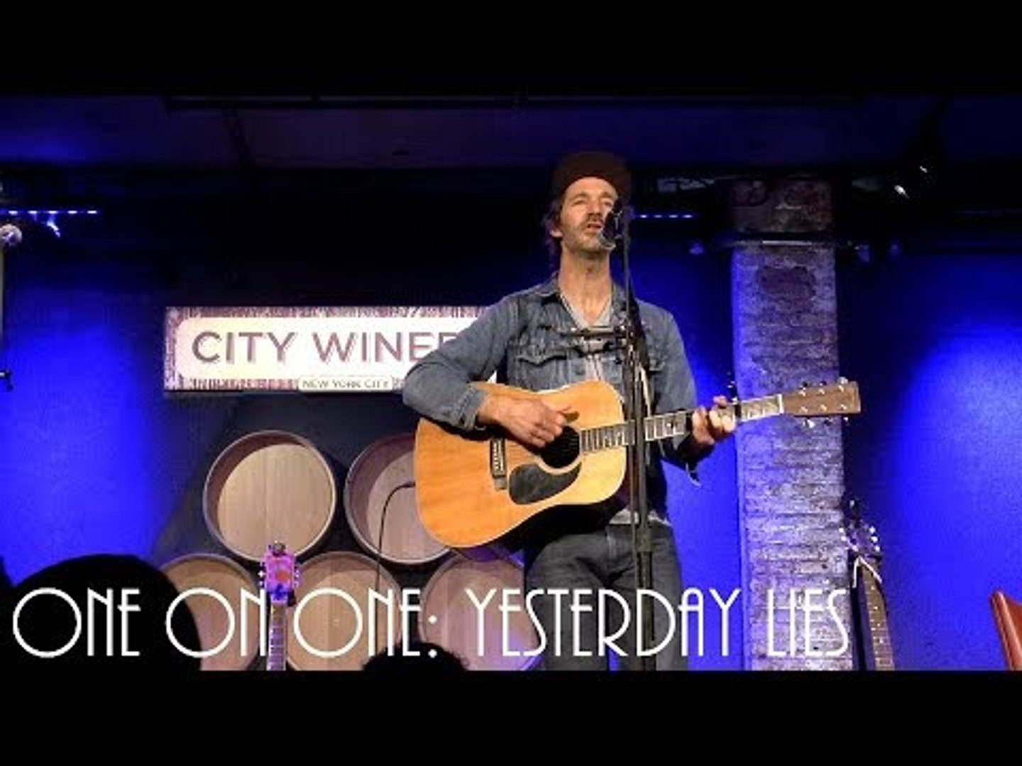 ONE ON ONE: Griffin House - Yesterday Lies February 13th, 2018 City Winery New York