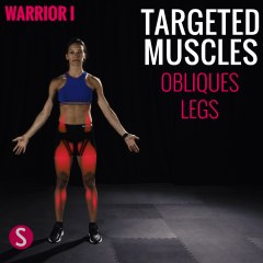 Moves and Muscles: Warrior 1