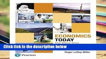 Economics Today: The Micro View (Pearson Series in Economics) Complete