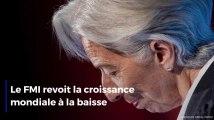 Le FMI revoit la croissance mondiale à la baisse