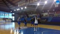 Helena_Ciak - BLMA à la veille de la finale de la coupe d'Europe de basket.