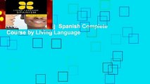 [NEW RELEASES]  Spanish Complete  Course by Living Language