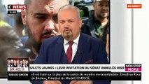 """Accrochage entre l'avocat des """"gilets jaunes"""" et Jean-Marc Morandini après des menaces contre CNews et Pascal Praud - VIDEO"""