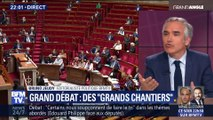 """Grand débat: des """"grands chantiers"""" (1/3)"""