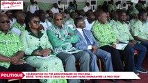 Célébration du 73e anniversaire du PDCI-RDA : Henri Konan Bédié,Dites non à ceux qui veulent faire disparaitre le PDCI-RDA
