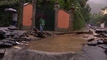 Fuertes lluvias en Brasil causan inundaciones y al menos diez personas han fallecido