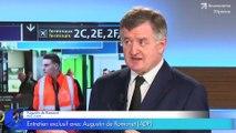 Privatisation: Augustin de Romanet (PDG du groupe ADP) réagit au référendum d'initiative partagée