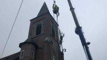 Couvin : la croix de Petite-Chapelle sécurisée