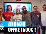 Alonzo offre 1500¤ à un auditeur ! #MorningDeDifool