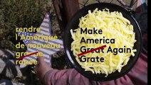 États-Unis : un artiste construit un mur en fromage à la frontière avec le Mexique en réponse à Trump