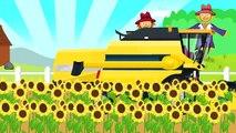 Rouge d'Assemblage de Tracteurs | Enfants sur la promenade en traîneau | Enfants en traîneau l'Hiver la neige fun | Traktor Bajka 18