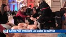 À la UNE : un exercice de simulation d'attentat au collège des Beauregards à Montbrison / un millier d'infirmiers au Zénith de Saint-Etienne demain / les habitants de Boisset-Saint-Priest solidaires / le festival des 7 collines a 25 ans cette année.