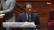 Cédric O s'exprime pour la première fois face à l'hémicycle sur la fracture numérique