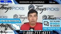LA Dodgers vs. St Louis Cardinals 4/10/2019 Picks Predictions