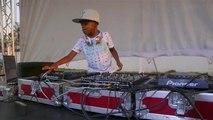Un DJ de éxito con solo seis años