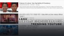 Lagu Rap Battle Jokowi vs Prabowo Jadi Trending YouTube