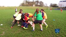 Académie pôle espoir de Rennes,  découverte de la filière arbitrage rugby avec Lidwine Alba.