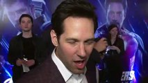 Paul Rudd feels like he showed up late to the Avengers party