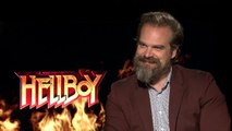 Hellboy vs. Thanos? Who David Harbour Thinks Would Win