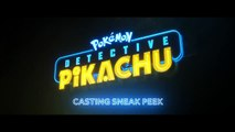 Casting Detective Pikachu | POKÉMON Detective Pikachu | In Theaters This May | WB Kids