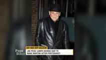 #JoePesci wrapped a long photoshoot for #MartinScorcese's upcoming movie #TheIrishman by making martinis! #AlPacino and #RobertDeNiro also joined them for drinks, and we'll tell you everything on #PageSixTV!