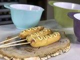 Banderillas de salchicha hechas en casa