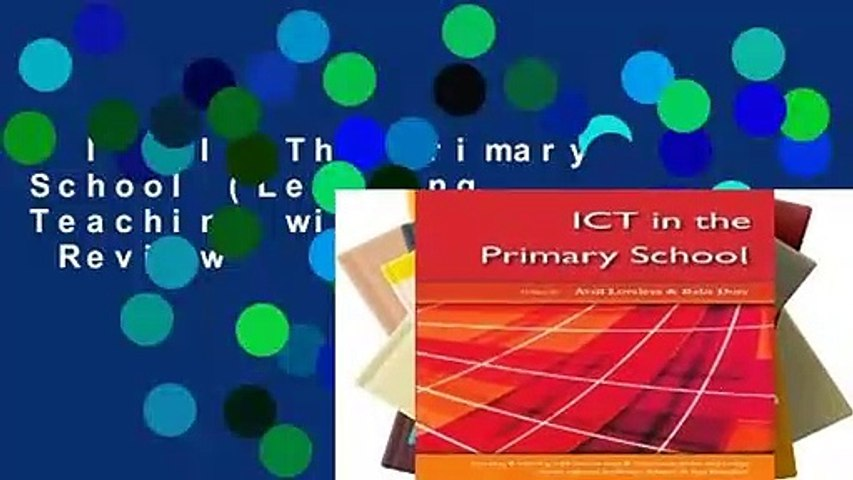Ict In The Primary School (Learning   Teaching with ICT)  Review