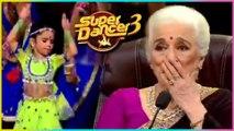 Rupsa AWESOME Performance SHOCKS Asha Parekh & Waheeda Rehman | Super Dancer Chapter 3