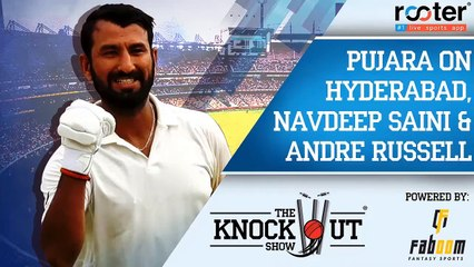Che Pujara impressed by Navdeep Saini & talks about Dre Russ - The Knockout Show - Ep 11