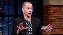 Sam Rockwell Wants to Share His Mother's Paintings with Tim Burton