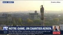 """Seize statues de Notre-Dame vont prendre """"leur envol"""" pour être restaurées"""