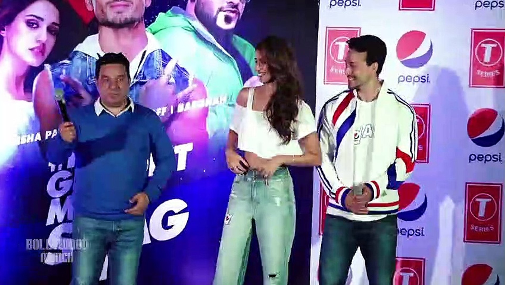 Tiger Shroff Fights With His Girlfriend Disha Patani For Her Dressing Style   Pepsi Anthem Launch