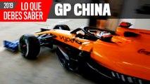 Claves del GP de China F1 2019