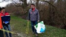 Journal au collège : A la chasse aux déchets à Ensisheim