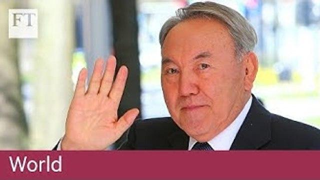Nazarbayev resigns as Kazakhstan president