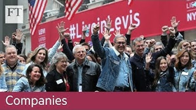 NYSE suspends 'no jeans' rule for Levi's IPO