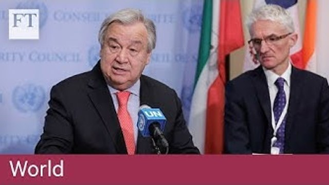 UN and European leaders reject Trump's stance over Golan Heights