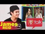 "PEP TALK. James Reid discovers ""Bahala Na"" is used by AlDub: ""That's cool!"""