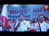Rodrigo Duterte says he uses Mar Roxas's posters for his target shooting practice
