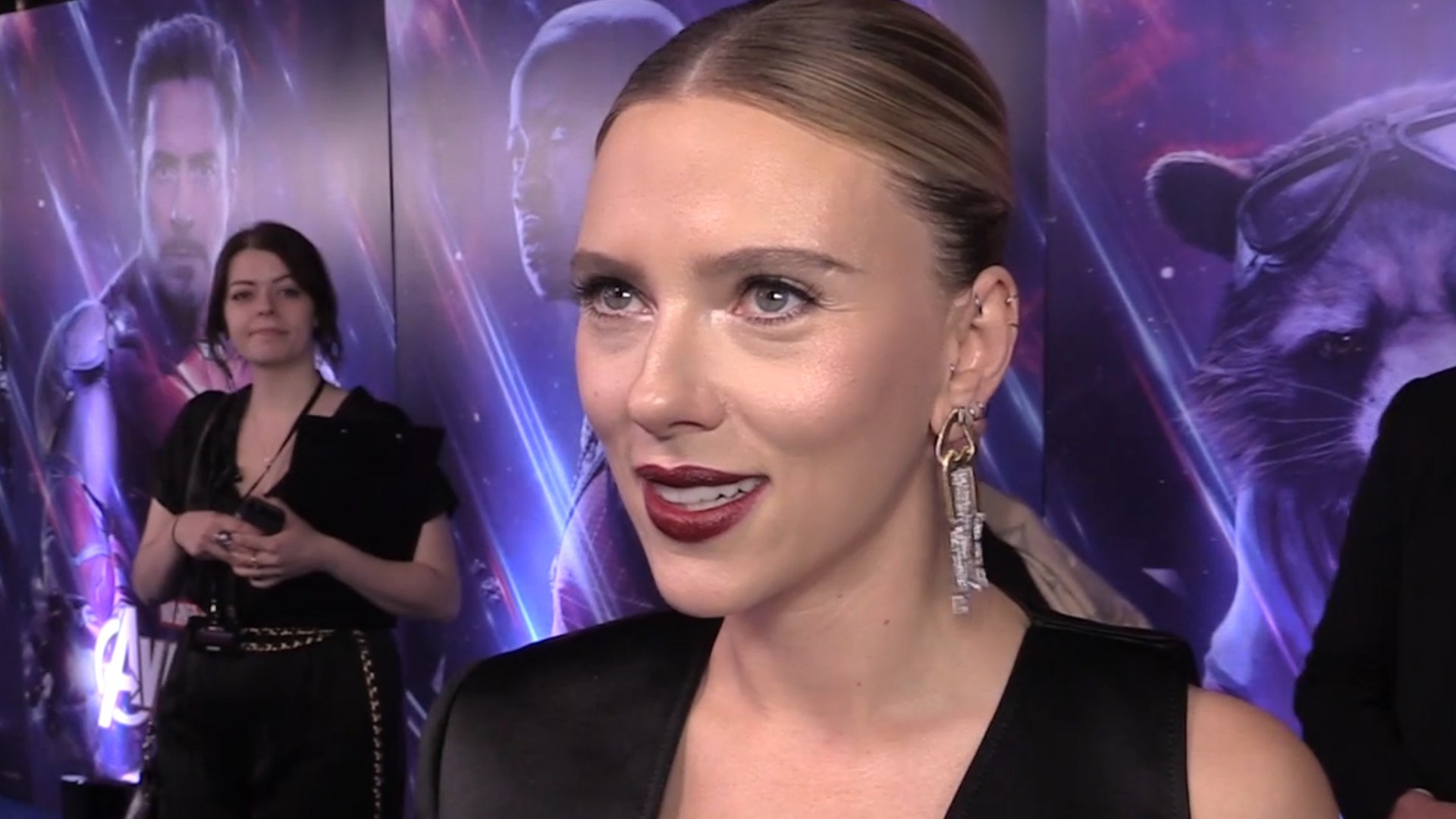 Scarlett Johansson: 'Black Widow is more vulnerable than I thought'