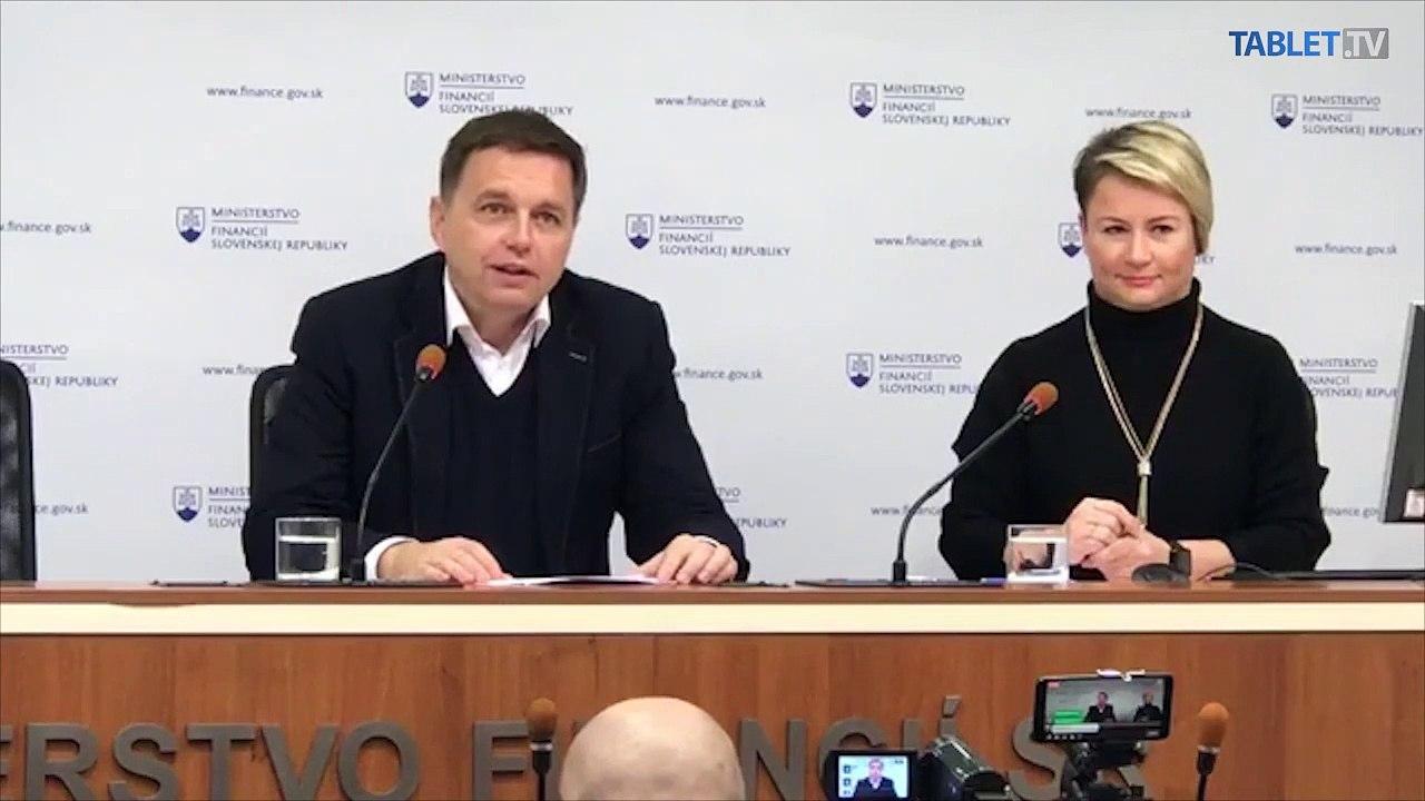 ZÁZNAM: TK ministra financií SR Petra Kažimíra po podaní demisie