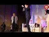 Mario Maurer demonstrates how he practices Muay Thai