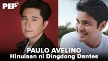 Was Dingdong Dantes correct with his prediction about Paulo Avelino?