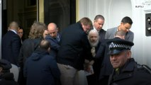 WikiLeaks founder Julian Assange arrested at London's Ecuadorian embassy