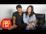 The stars of Araw Gabi, @Barbie Imperial and JM De Guzman PEP Talk live!